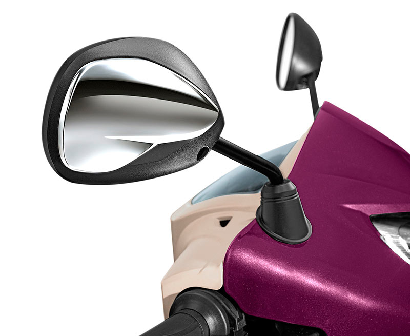 New TVS Jupiter Chrome Rear Review mirrors