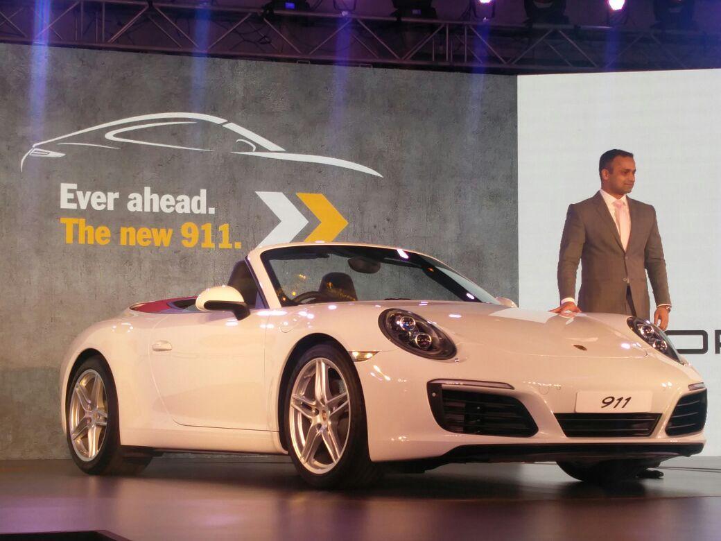 Porsche 911 India Launch