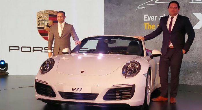 Porsche 911 Launch in India