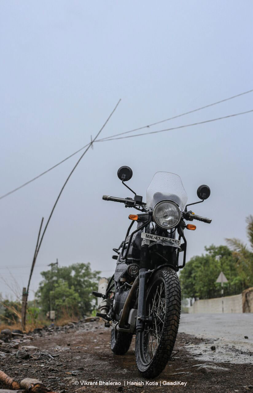 Royal Enfield Himalayan Test Drive Photos