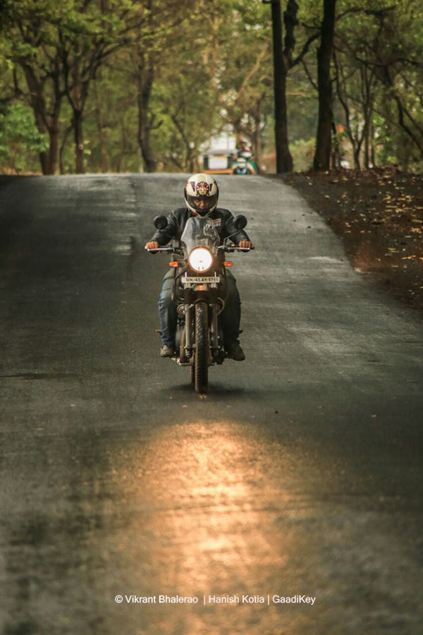 Royal Enfield Himalayan on Road