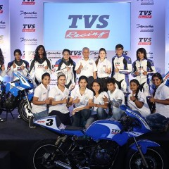 TVS Racing supports Alisha Abdullah Racing Academy for Women