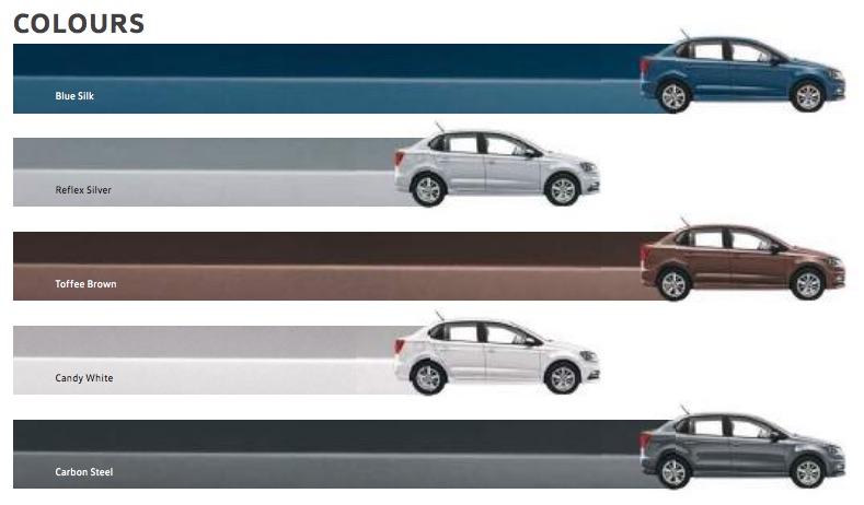 Volkswagen Ameo Colors