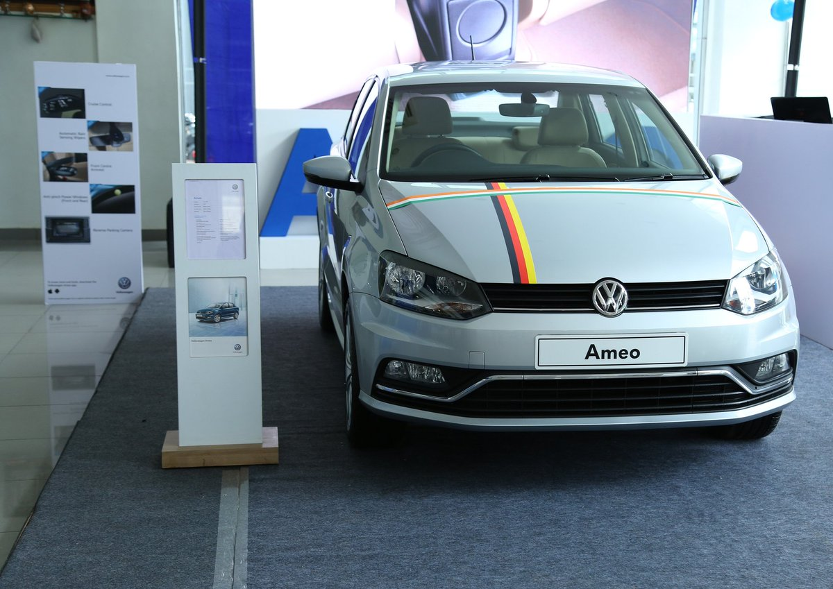 Volkswagen Ameo launched in Bangalore