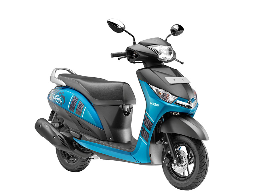 2016 Yamaha Alpha Scooter Launch
