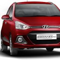 Hyundai Grand i10 Red Color ( Wine Red)