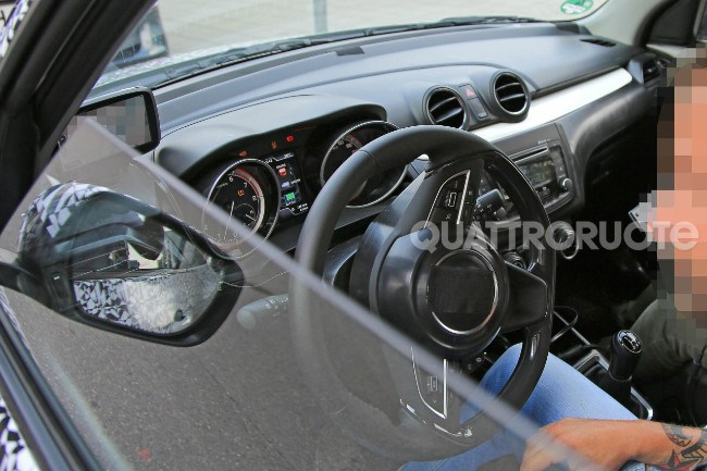 Fresh Image of 2017 Maruti Swift Interior