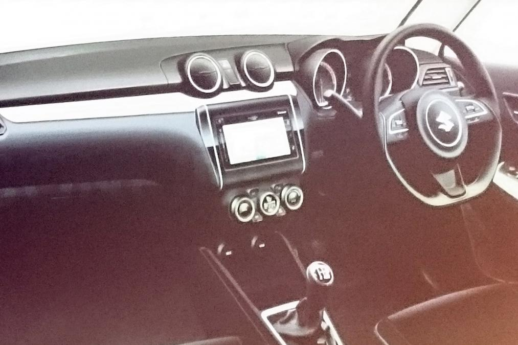 2017 Maruti Swift Interiors Spotted