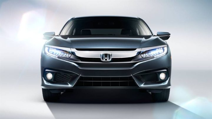 2017 New Honda Civic Front View Photo 1