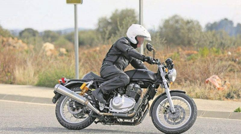 750cc Royal Enfield Spotted Testing