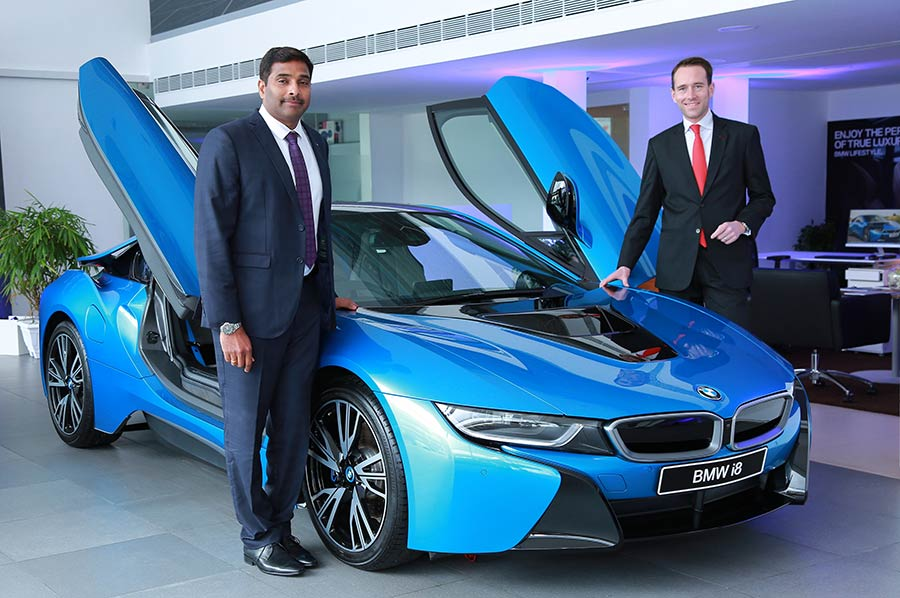 BMW i8 in India