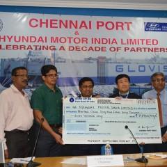 Over 2 Million Cars exported through Chennai port by Hyundai