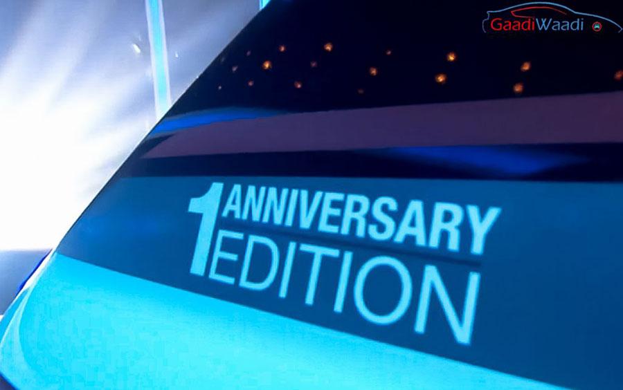 Hyundai Creta 1st Anniversary Sticker