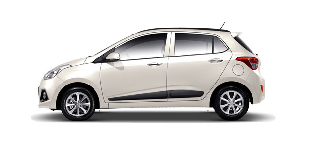 Hyundai Grand i10 Colors - Pure White