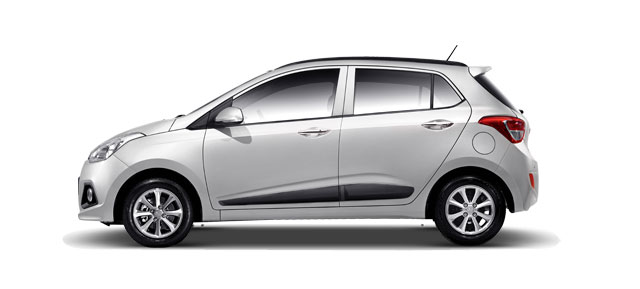 Hyundai Grand i10 Colors - Sleek Silver Color