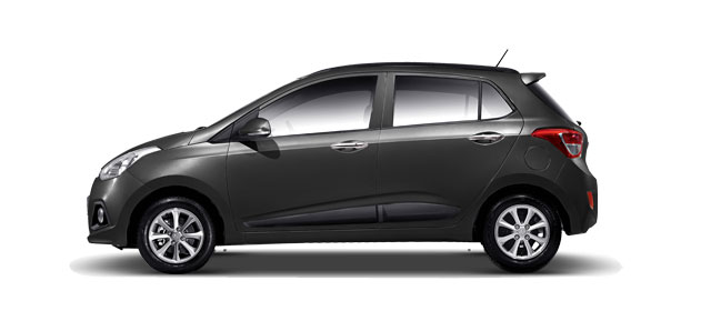 Hyundai Grand i10 Colors - Stardust Black