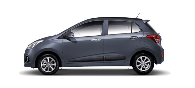 Hyundai Grand i10 Colors - Twilight Blue Color