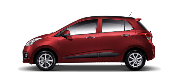 Hyundai Grand i10 Colors - Wine Red