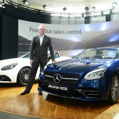 Mercedes-Benz launches most agile roadster Mercedes-AMG SLC 43 in India
