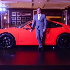 Porsche India celebrates arrival of the new Porsche 911