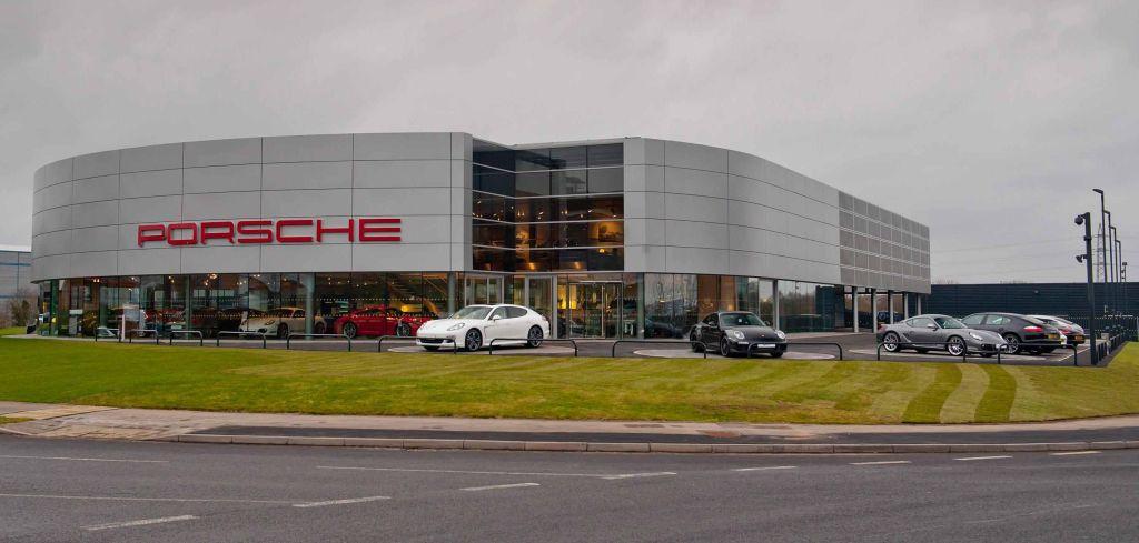 Porsche Showroom India