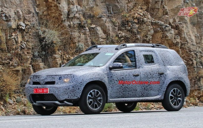 Renault Grand Duster Spy Photos