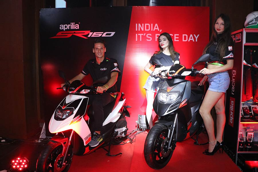 Aprilia SR150 Launch