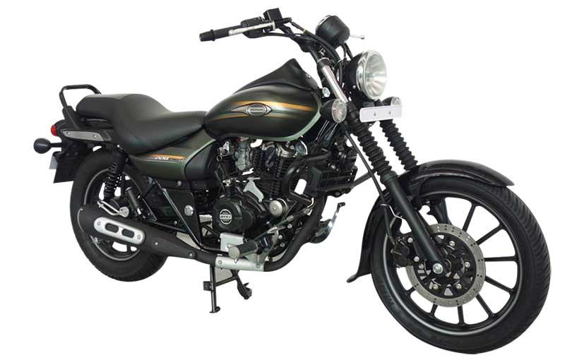 Bajaj Avenger Street 220 with Matte Green Color