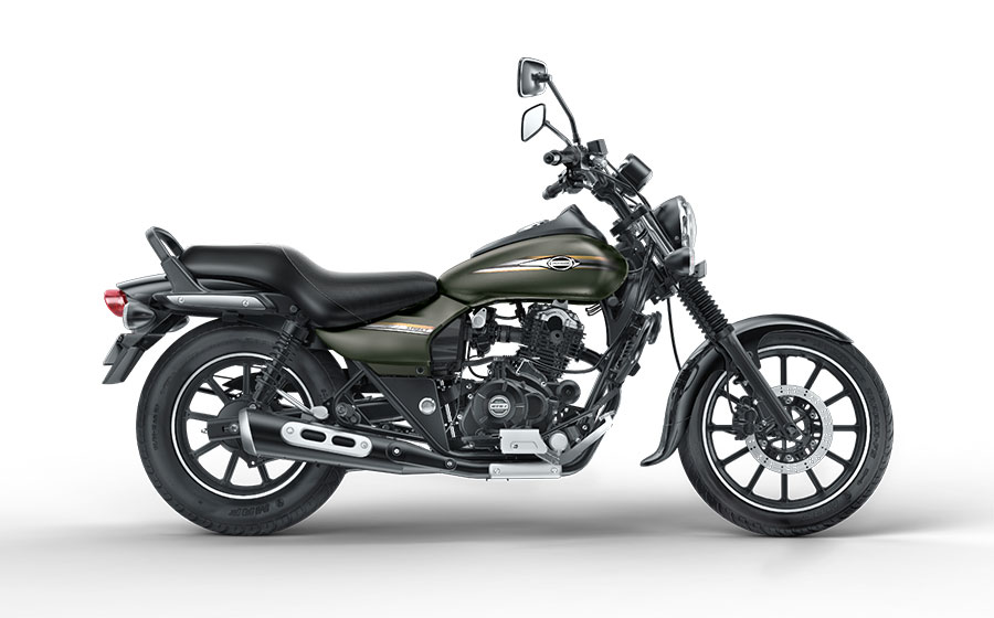 Bajaj Avenger Street Wild Green Color