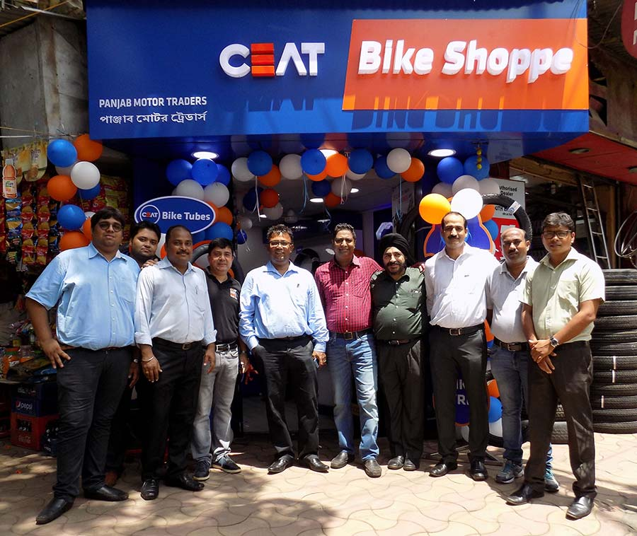 CEAT Bike Shoppe in Kolkata