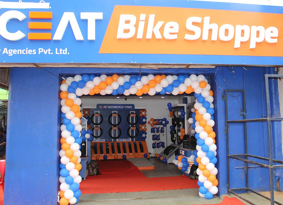 CEAT Bike Shoppe in Bangalore