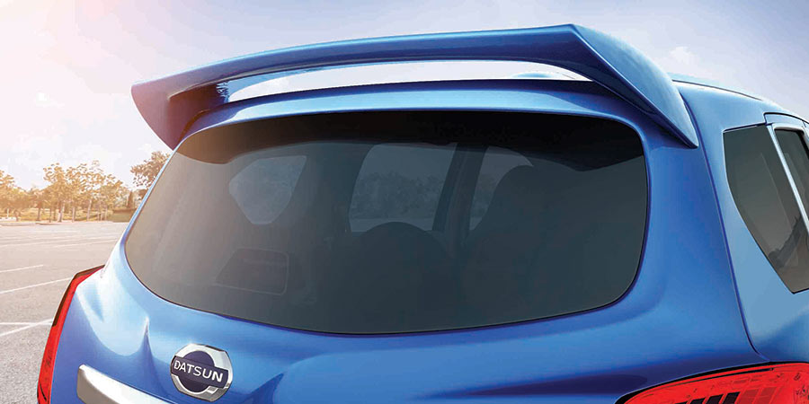 Photos of Rear view of Datsun GO+ Style Edition