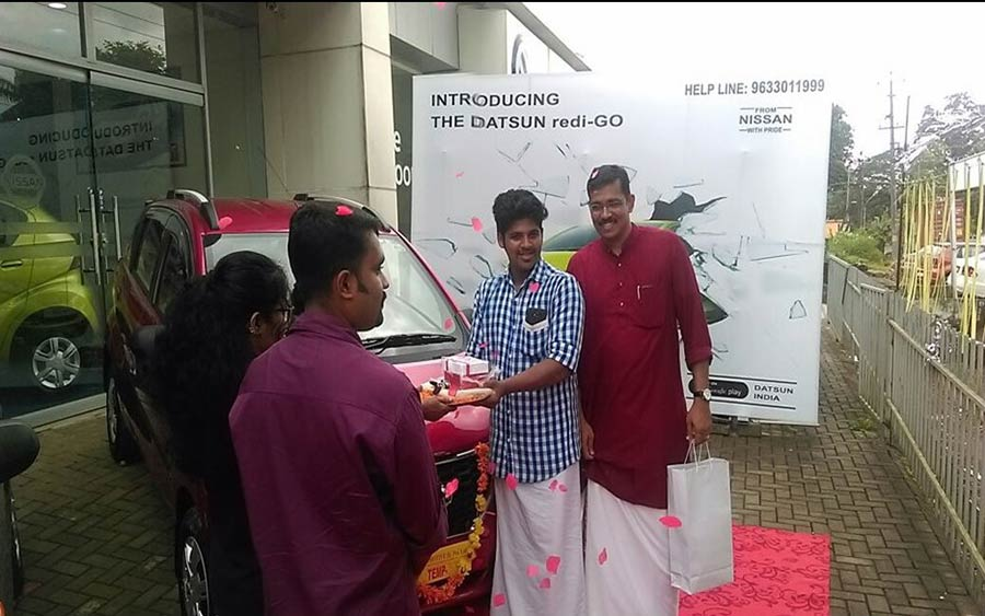 Datsun Redi-GO Chingam Festival in Kerala
