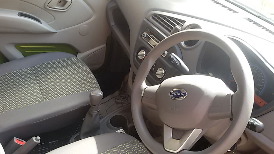 Datsun Redigo Interior Photos