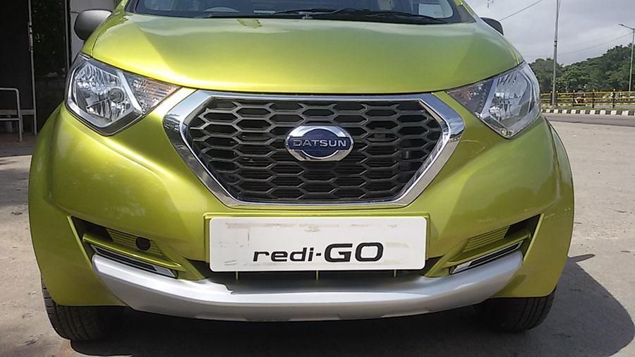Datsun Redi-go front Chrome Grille