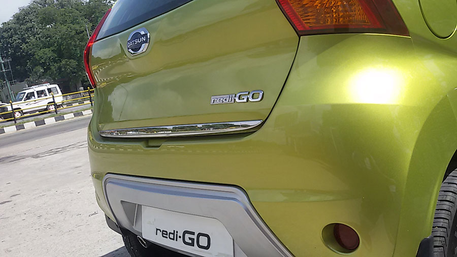 Datsun Redigo rear photos