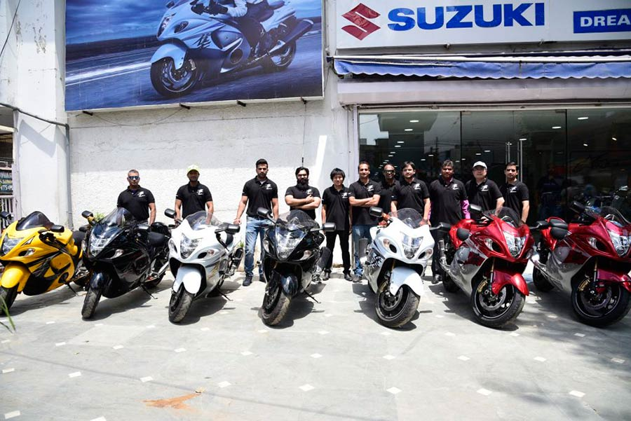 Photos of Suzuki Hayabusa Day