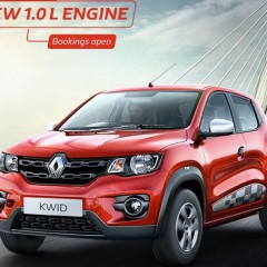 Renault Kwid 1.0L RXT Price announced: INR 3.82 Lakhs