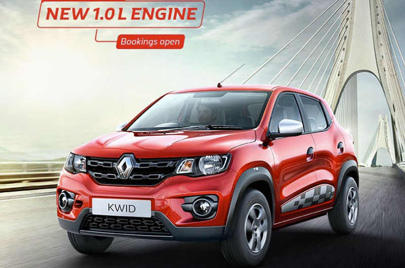 Renault Kwid 1L Engine launched in India