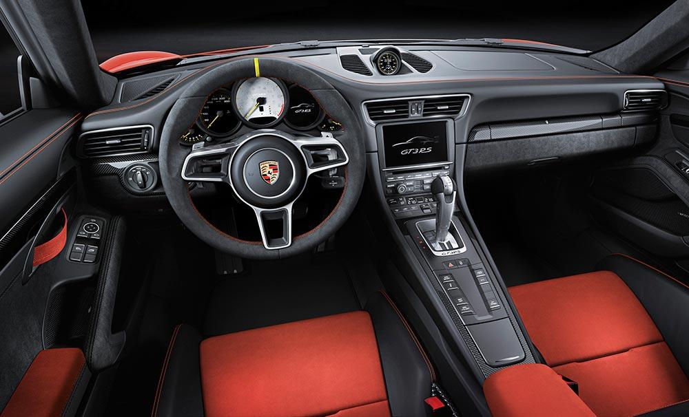 Porsche 911 GT3 RS Interiors