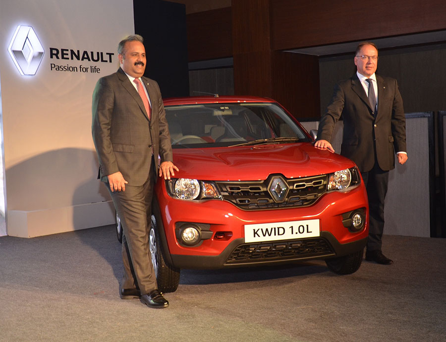 Renault Kwid 1.0 Litre variant Launched