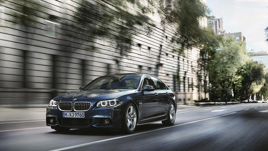 New BMW 520D M Sport