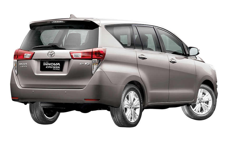 Toyota Innova Crysta Petrol Variant Launched