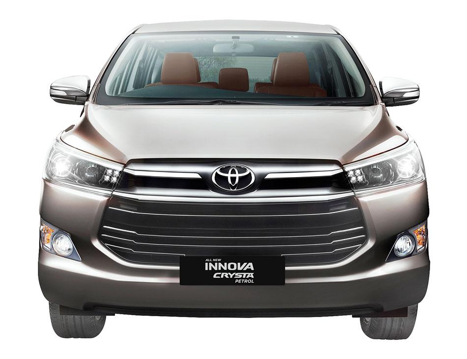 Toyota Innova Crysta Petrol Variant