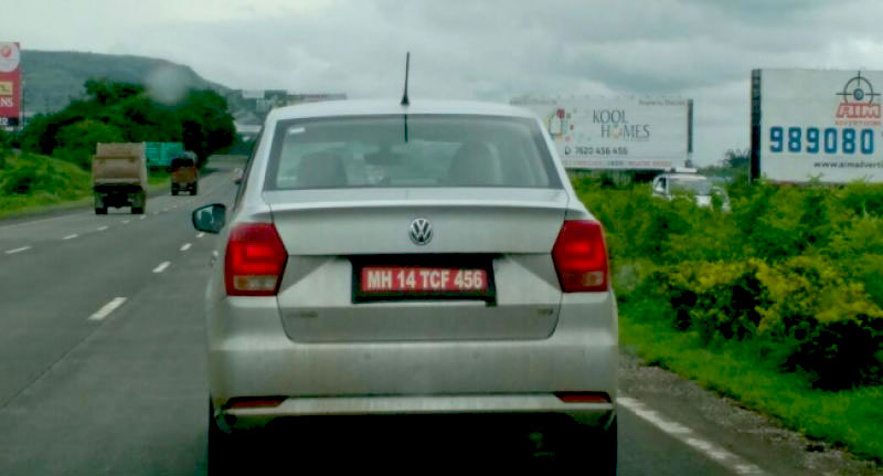 Volkswagen Ameo Diesel Spyshots