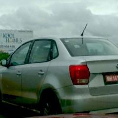 Volkswagen Ameo Diesel Spotted Testing
