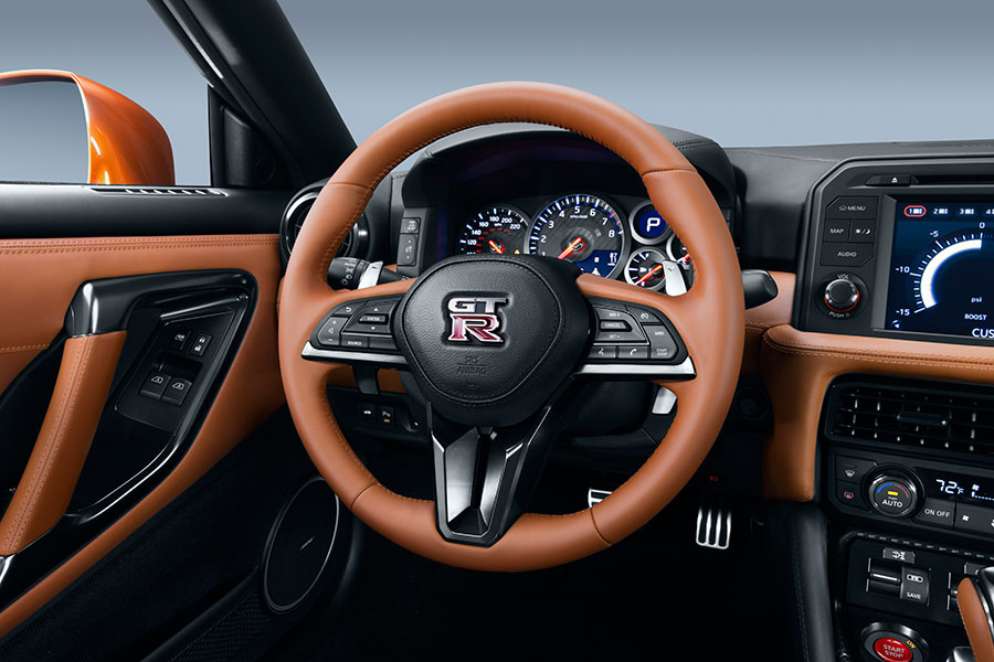 2017 Nissan GT-R Interior Photos (Interior)