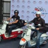 Peugeot Scooters rides across India in Django, part of the Paris- Saigon road trip