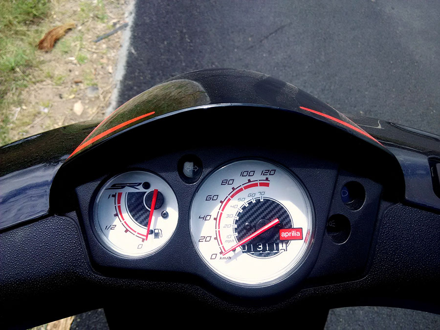 Aprilia SR150 Dashboard Photo