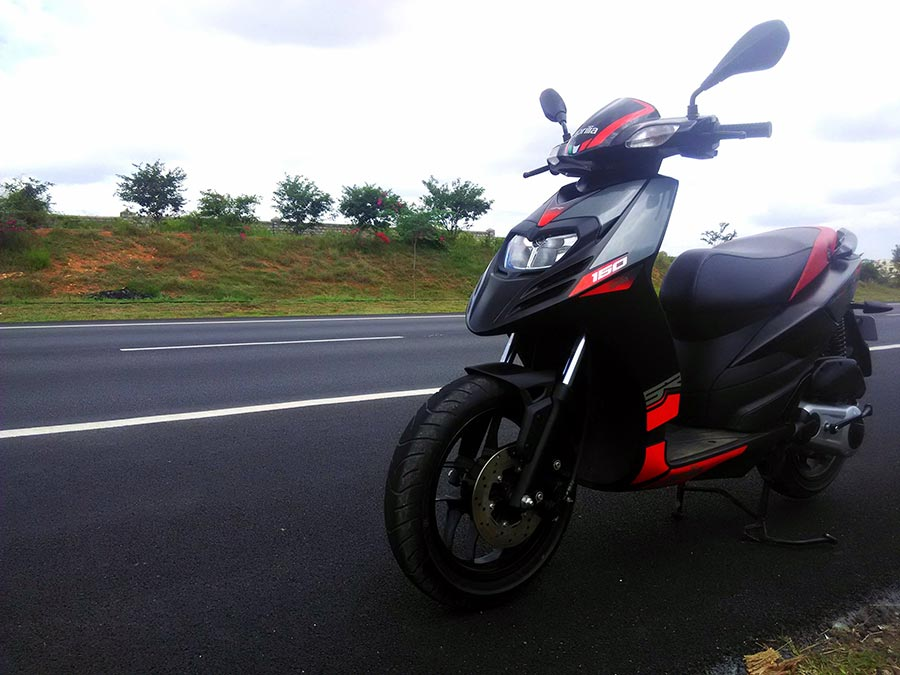 Aprilia SR 150 Design and Features